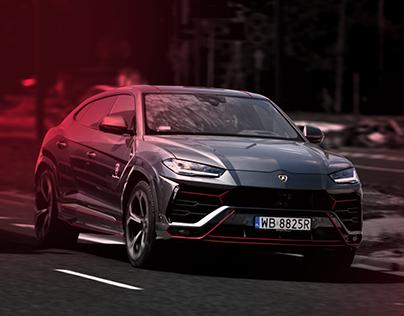 Lamborghini Urus - Wrap Design