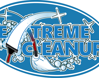 """Branding Graphics & Business Cards: """"Extreme CleanUp"""""""