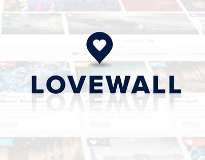 VisitBritain Lovewall
