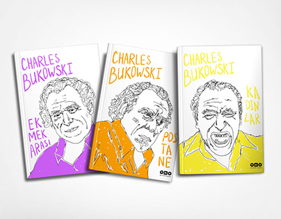 Book Cover Design (Charles Bukowski)