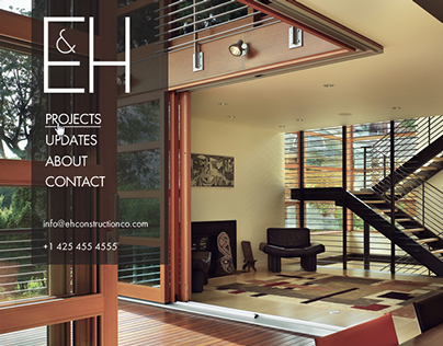 E&H Construction Web Redesign