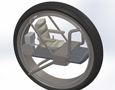 People Mover Solidworks