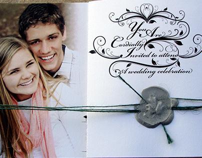 Elegant Wedding Announcement
