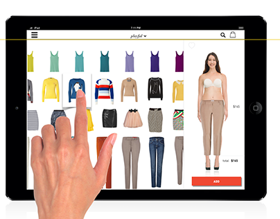 MIXSEE e-commerce Ipad app