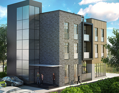 Redwood student housing-architectural design