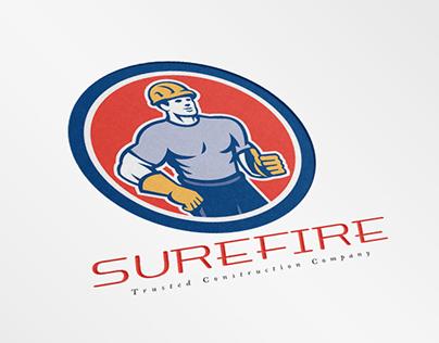 Surefire Trusted Construction Company Logo