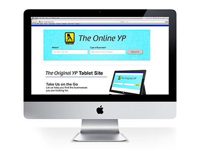The Online YP Website Redesign