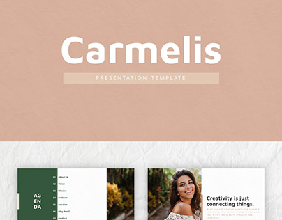 Carmelis Powerpoint Presentation Template