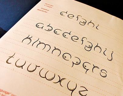 Body Language Bilingual Typeface