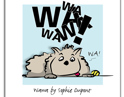 Les Aventures de Wawa (étude)