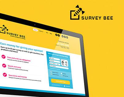 Surveybee webdesign