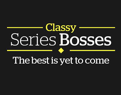 Classy TV Series Bosses