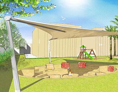 Private Villa Landscape Proposal - Jumeira