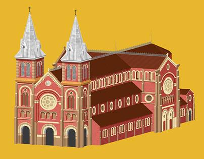 The Saigon Notre Dame Basilica