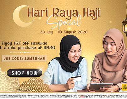 Oneshop X Maybank Hari Raya Haji Special Campaign