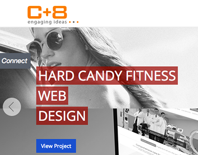 C+8 Design | Website Re-design