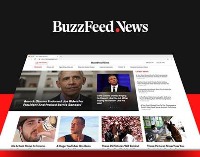 BuzzFeed News Redesign