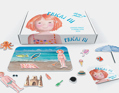 Pričaj mi — an educational material for speech therapy