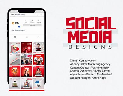 Korsaty | Social media