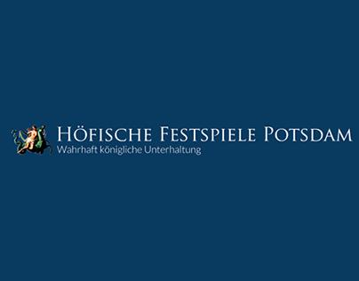 Höfische Festspiele Website