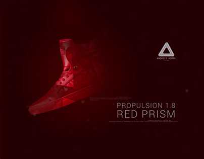 Android Homme - Red Prism