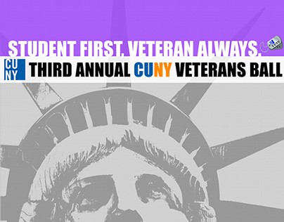 CUNY CCNY Veteran Ball Poster