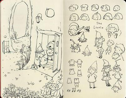Hatsu's Moleskine Doodles 1
