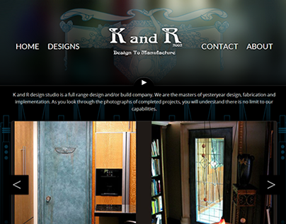 K and R - Responsive Website