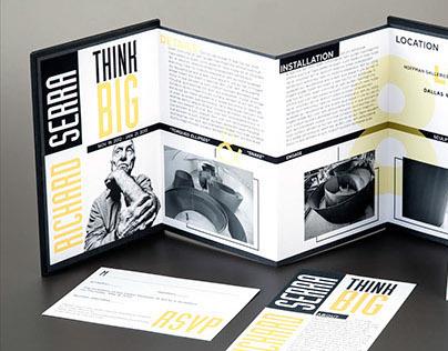 Print - Richard Serra Exhibition Invitation