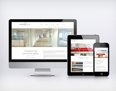 Alvarado Interiors | Web Design & Build
