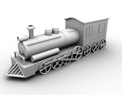 Train - 3d modeling