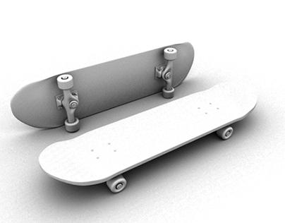 Skate - 3d modeling