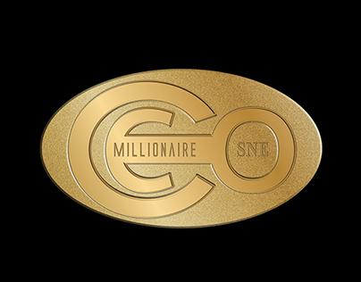 Millionaire CEO Club Logo & Colar Pin Design