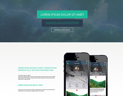 Tame Mobile Application Launch Landing Page