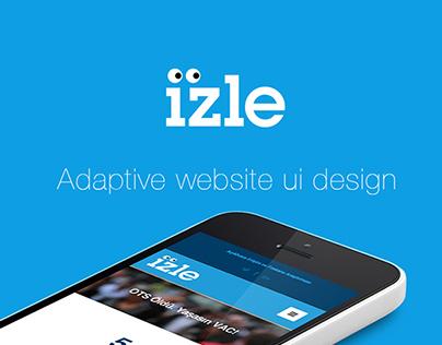 İZLE Adaptive Website