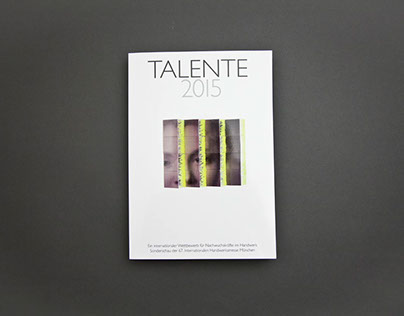 Talente 2015 exhibition, Munich | 2015