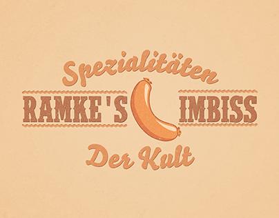 Logo Design for Ramkes Spezialitäten-Imbiß Restaurant