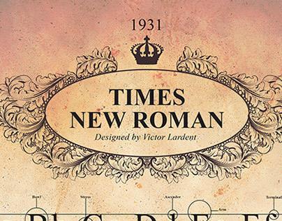 TypoPoster_Times New Roman