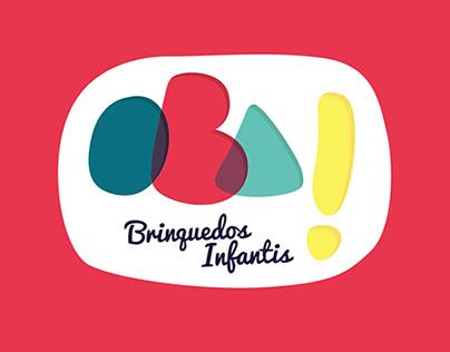 Branding • OBA Brinquedos infantis