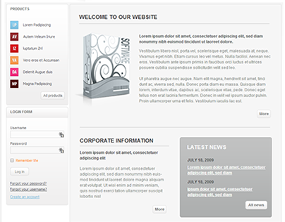 Soft Programs Joomla Template