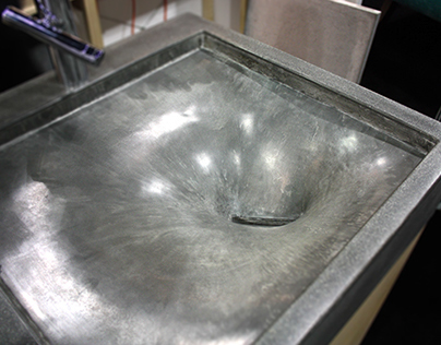 Stretched Concrete Hand Sink