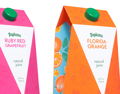 Tropicana Juice Packaging