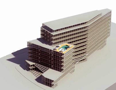 Anteproyecto edificio Mutifuncional Isidora