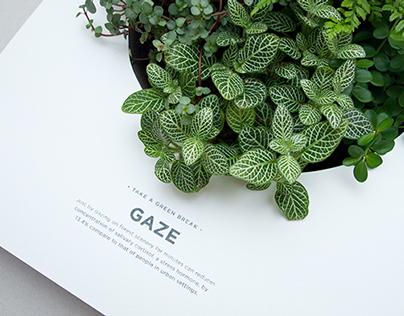 TAKE A GREEN BREAK: Poster