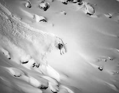 The Ant Colony - A Skiers Photo Essay