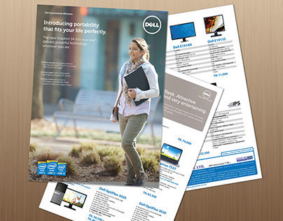 Dell Brochure Design