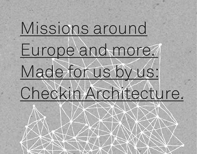 Check-in Architecture. Press.