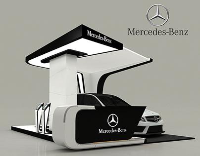 Mercedes Benz New C Class Booth On Behance