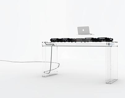 MINUS DJ table