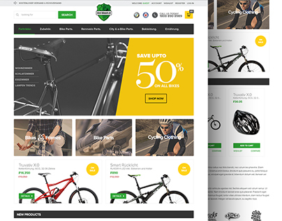 Direct Bikeparts - eCommerce Website Design